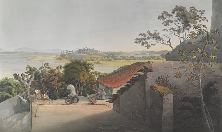 View from Sion Fort Plate 10
